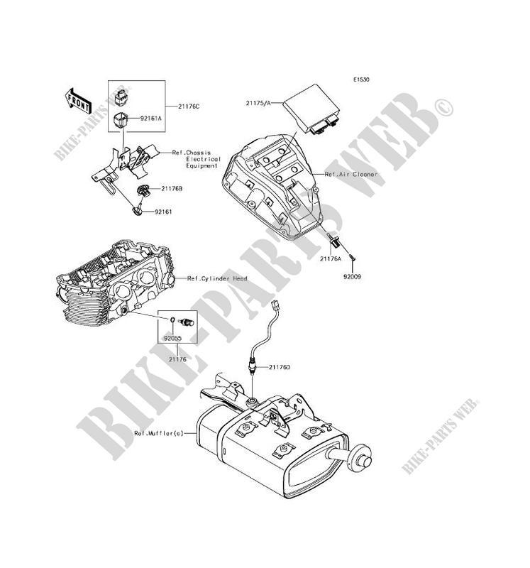 Kawasaki Motos 650 2017 Vulcan S Abs En650dhfa Fuel Injection: Kawasaki Vulcan S Wiring Diagram At Hrqsolutions.co