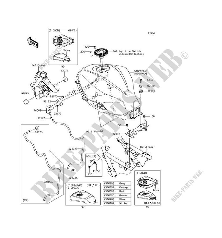 Kawasaki Ninja 300 Parts Diagram