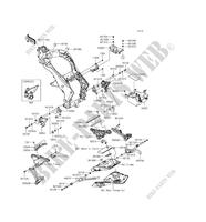 FRAME PARTS (COUVERTURE) ZX1000MGF 1000 kawasaki-motorcycle 2016 Z1000SX ABS E_05