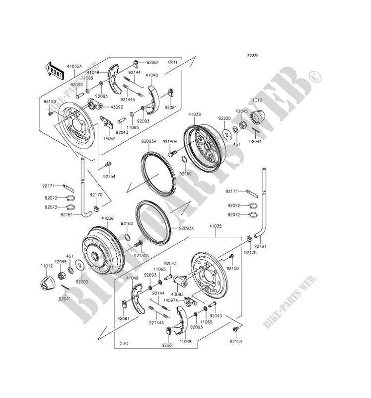 kawasaki mule engine diagram air