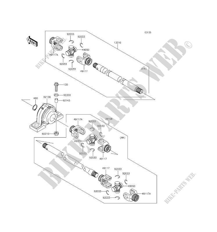 Kawasaki Mule 4010 Wiring Diagram - General Wiring Diagram