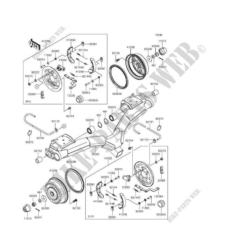 Kawasaki Mule Motor Diagram