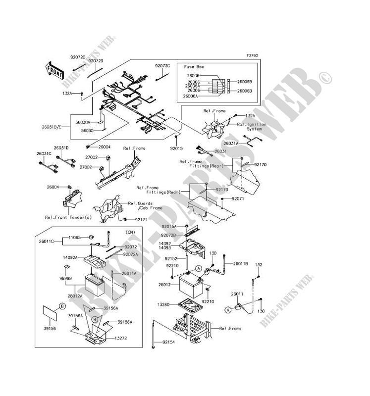 CHASSIS ELECTRICAL EQUIPMENT Kawasaki SSV 800 2017 TERYX CAMO KRF800HHF G_09 wiring diagram kawasaki teryx schematic diagrams