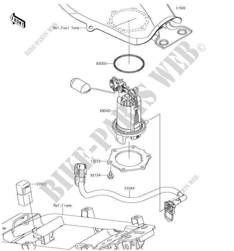 Kawasaki Parts Diagram For Pumps