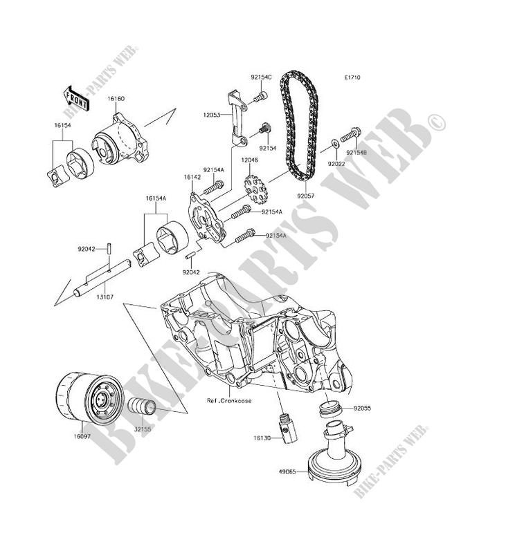 Kawasaki Motos 650 2018 Vulcan S En650cjf Pompe A Huilefiltre À Huile: Kawasaki Vulcan S Wiring Diagram At Hrqsolutions.co