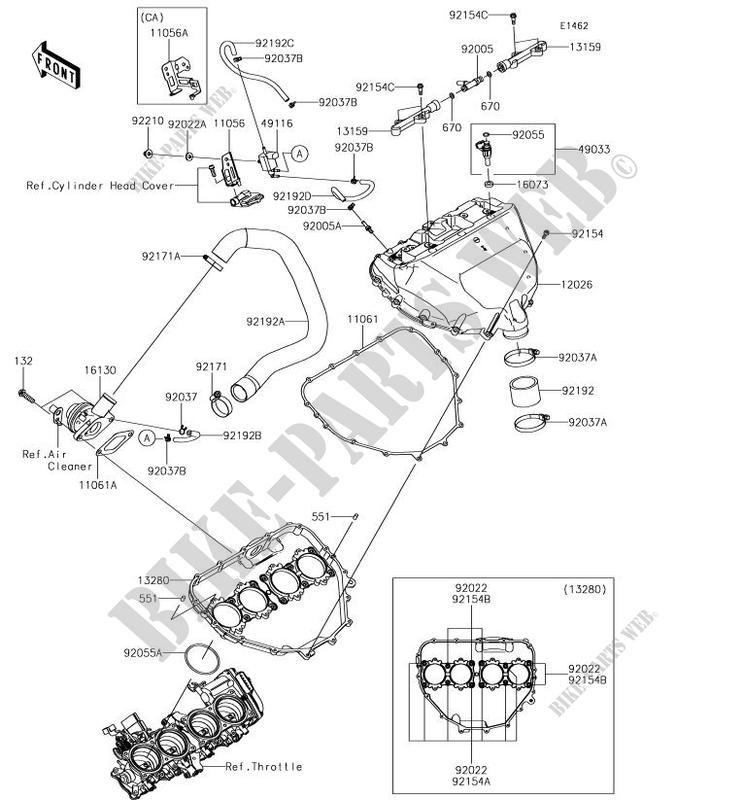 Inner Tire Tube Zx1000xhf Ninja H2 2017 1000 Motos Kawasaki