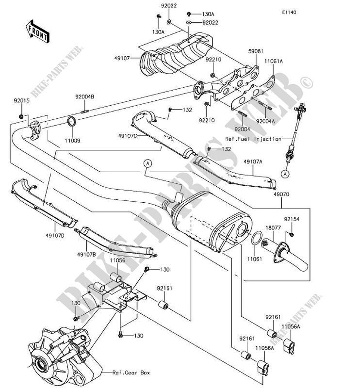 Mule Pro Wiring Diagram - Wiring Diagrams Kawasaki Mule Wiring Schematic Kaf on