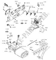 FUEL INJECTION for Kawasaki MULE PRO-FXT 2018
