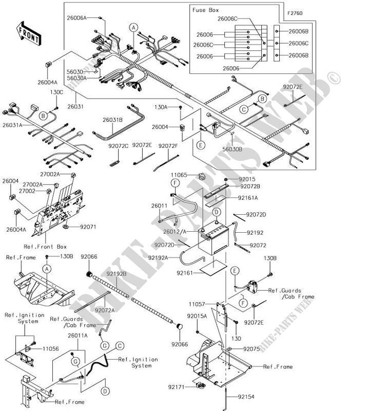 kawasaki mule pro fxt wiring diagram kawasaki wiring diagramskawasaki ssv 820 2018 mule profxt kaf820jjf chassis electrical equipment pro fxt wiring diagram kawasaki