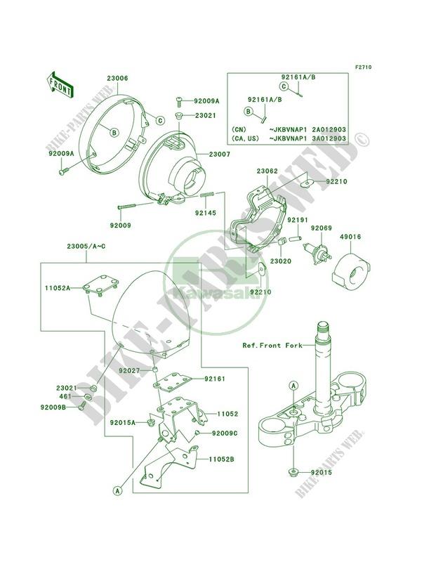 Kawasaki Vulcan 800 Turn Signal Light Wiring Diagram