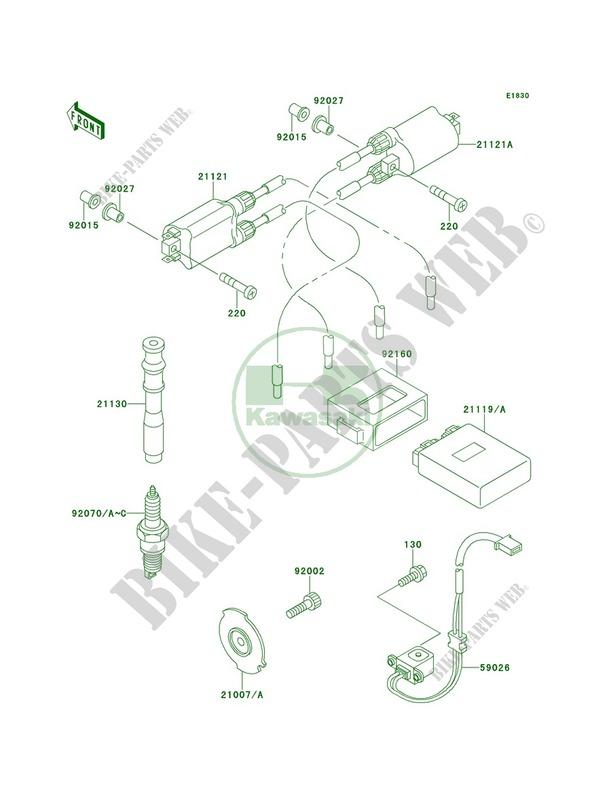 Kawasaki CAP-SPARK PLUG 21130-1065